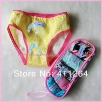 36pcs/lot(2-13Y) Wholesale Cartoon Underwear Children/Kids briefs/panties hello kitty floral briefs boys girls Free shipping