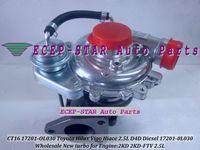 CT16 17201-OL030 17201-0L030 Turbine Turbo Turbocharger Fit For TOYOTA Hilux Vigo Hiace 2.5L D4D Engine 2KD 2KD-FTV NEW