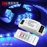 4A*3CH  RGB LED Controller 12V constant voltage flexible mini LED RGB controller