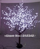 LED christmas tree lights for decorating garden, park,  travel place and street/ Blue or White Optionally!/Free Shipping!