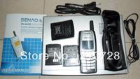 SENAO SN-6610 long distance cordless telephone 1 base support 9 extra handset Duplex Intercom