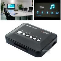 / wholesale / HDMI 1080P 3D HD Media Center Real Media Player USB HD SD MMC MP4Player SDHC