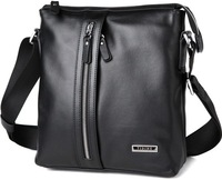 Free shipping TIDING Mens Real Leather Messenger Shoulder Bags Corss Body Satchel  1037