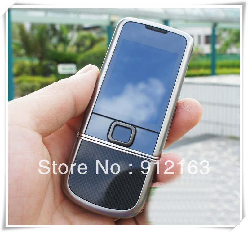 100% Original 8800 Carbon arte Unlocked mobile phone/ 3G,3.2MP internal 4GB memory buletooth BH803 made in Korea(China (Mainland))