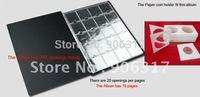 30*24.5cm large EXCLUSIVE 200PCS NUMIS COINS Holder POCKET ALBUM    2pcs/lot