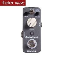 MOOER ShimVerb Reverb Guitar Effect Pedal /Digital Reverb Pedal 3 Reverb Modes: Room, Spring, Shimmer/Free Shipping Wholesale