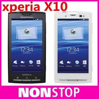X10i Original Sony Ericsson Xperia X10 Android OS 3G Wifi GPS Bluetooth 8MP Mobile Phone