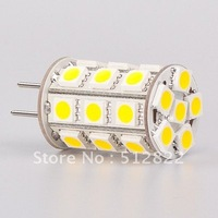 Led G6.35 Lamp Lighting Bulb 12VAC/12VDC/24VDC 27pcs of 5050SMD 4W To Replace 35W Halogen