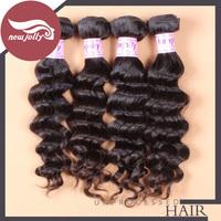 Brazilian virgin hair big wave unprocessed hair bundles Grade 8a 3pcs only natural black color human hair free shipping