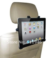 Mount Bracket Back Car Seat Holder Stand for iPad PC Table with retail packaging free shipping