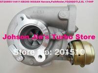 NEW GT2056V/751243-5002S 14411-EB300 Turbocharger for NISSAN Navara,Pathfinder 2.5DI,engine:QW25/YD25DDTI,2.5L 174HP 2005-