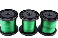 Free Shipping!1000M/Piece 25LB GREEN Spectra BRAID Fishing Line 6 Strand