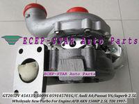 NEW GT2052V 454135-5009S 454135 059145701G/C TURBO Turbocharger For AUDI A4 2.5TDI PASSAT V6 SKODA Superb 2.5L TDI AFB AKN 150HP