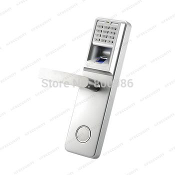 Biometric security keyless lock fingerprint password door handle (HF-LA801)
