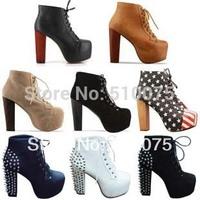 Женские ботинки 34/43 #J10652F