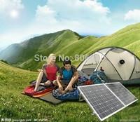 100w mono solar panel folding  portable solar module,for 12v battery , solar mono,free shipping *