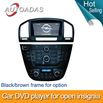 Freeshiping  2 din car dvd player for opel  INSIGNIA/ buick regal with radio/gps/bluetooth,russian navitel map supported