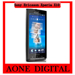 Original Sony Ericsson Xperia X10 4.0inch Capacitive Touch Screen Wifi GPS 8MP Android Smart Phone Free Shipping(China (Mainland))