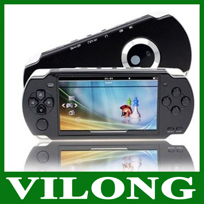 free shipping 4GB 4.3 Inch PMP Handheld Game Player MP3 MP4 MP5 Player Video FM Camera Portable Game Console Multimedia Player(China (Mainland))