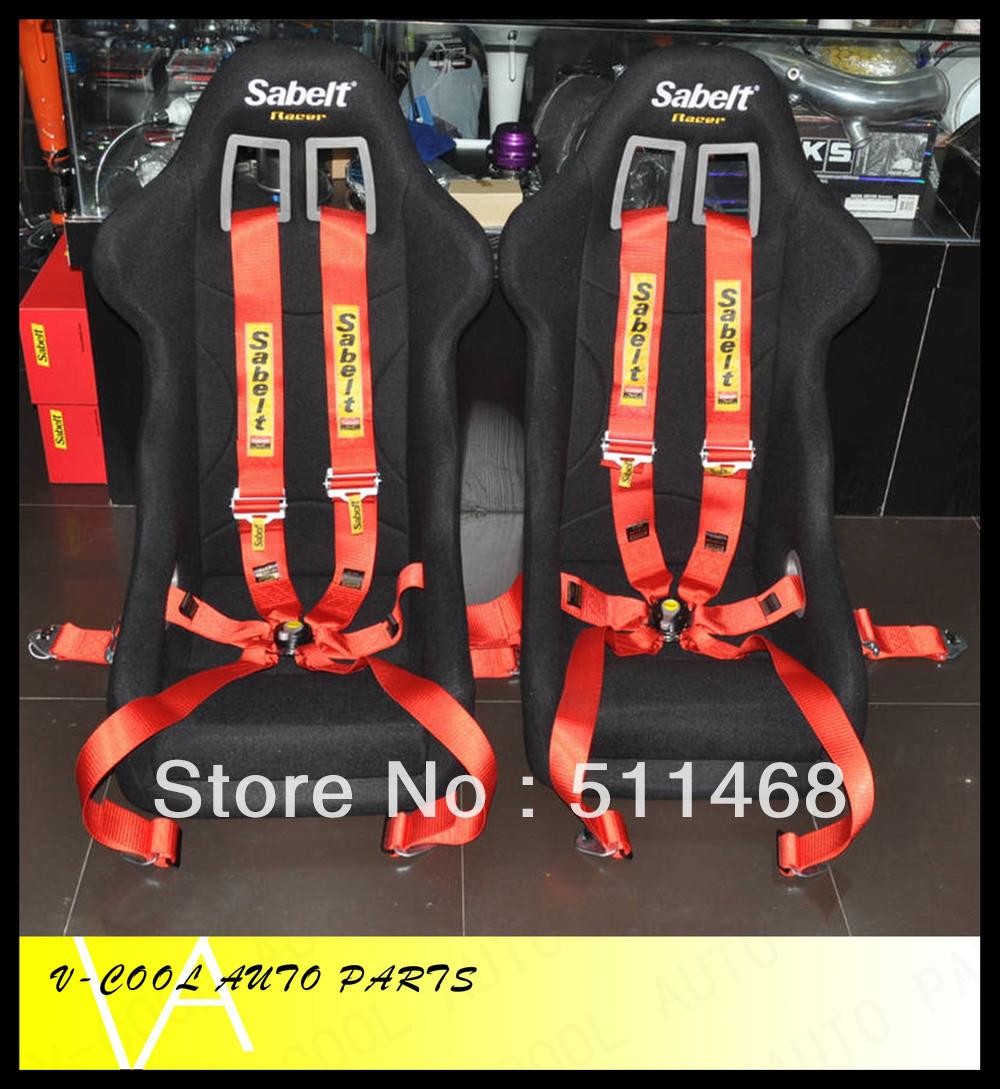 Одобрение fia 3 дюймов 4 точка quick release красный гонки ремней безопасности/ремни безопасности/проводка(china