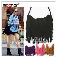 Hot Sale European&American Style Star Fashion Tassels Bags Hobo Clutch Purses Handbags women Shoulder Bags LB098