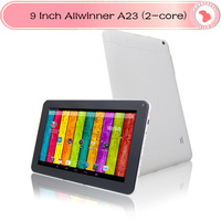 9 inch Allwinner A13 A23 Dual Core Tablet PC Capacitive Touch Screen Android 4.2 Dual camera wifi 512MB RAM 8GB