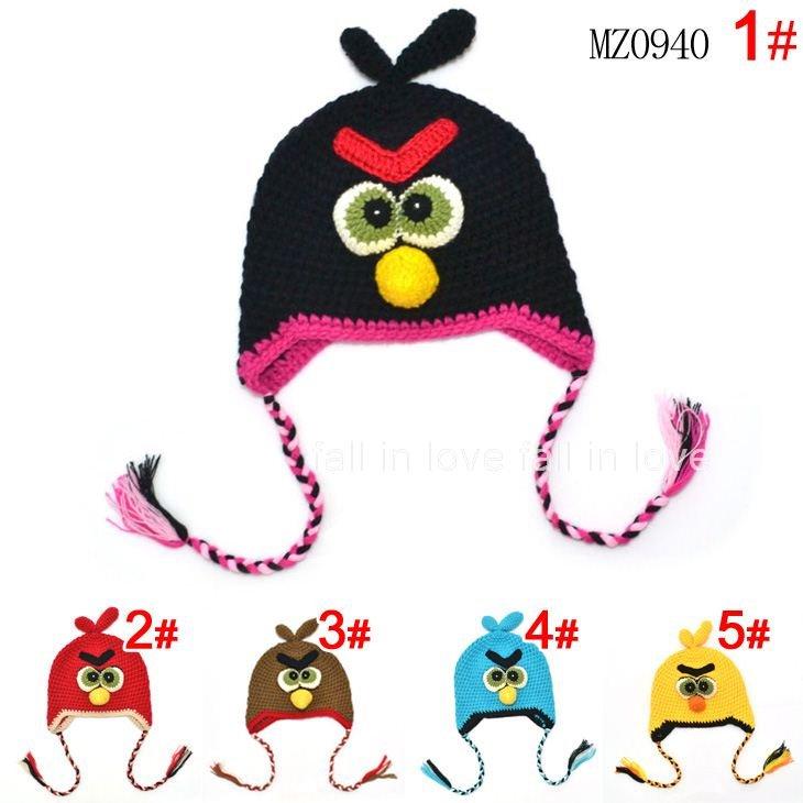 Crochet Animal Hat Baby Cap Baby Hats Cartoon Toddler EarFlap Crochet ...