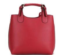 New Arrival Fashion Ladies' Vintage Celebrity Tote PU Leather Handbag Shopping Shoulder Bag Adjustable Handle Wholesale
