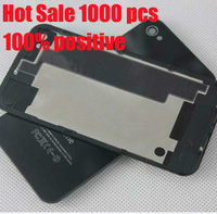 Top quality Original Black White Glass Battery Cover Back replacement Housing For iPhone 4S 4GS ,Free Shipping 10pcs