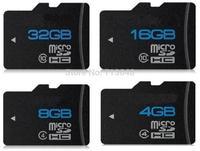 Real capacity 64GB Micro SD card SDHC Transflash TF Memory card 2GB 4GB 8GB 16GB 32GB flash with card reader