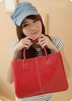 2013 New HotSale Fashion Elegant Lady Faux PU Leather Totes Wholesale And Dropship Price