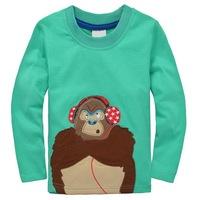 Excellent Toddler's Long-sleeved Cars Sports Tee Boy's Autumn Clothing Long Tees, 6 Sizes/lot - JBLT330/JBLT337/JBLT340/JBLT353