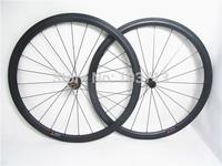 Farsports lightweight U shape 38mm clincher wheels 700c carbon bicycle wheels with EDhubs+Sapim cx-ray spokes