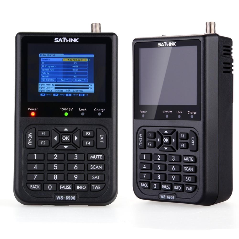 Professionele hoge kwaliteit satlink ws-6906 dvb-s fta digitale ...