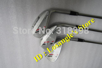 Hot Sale ATV Golf Wedge Set 52 . 56 . 60 Degree With Steel Shaft Golf Wedge Clubs Silver Color 3PCS