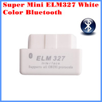 Diagnostic Tool Code Reader Super mini ELM327 Bluetooth OBD-II OBD Can White color 1.5 version with retail box