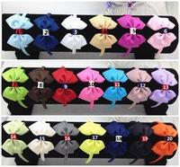 50pcs/lot Free Shipping, ,Bow 10CM,Band width  1cm.Fashion gifts/Wholesale,ribbon hairband , NEW/Baby Headband