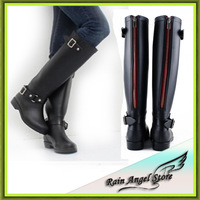 2014 candy color fashion woman women 's   boots rubber designer  rainboots