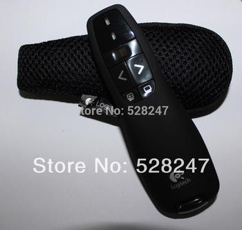 Free Shipping! *2014 laser pointer Logitech Wireless Presenter R400 wholesale&retail