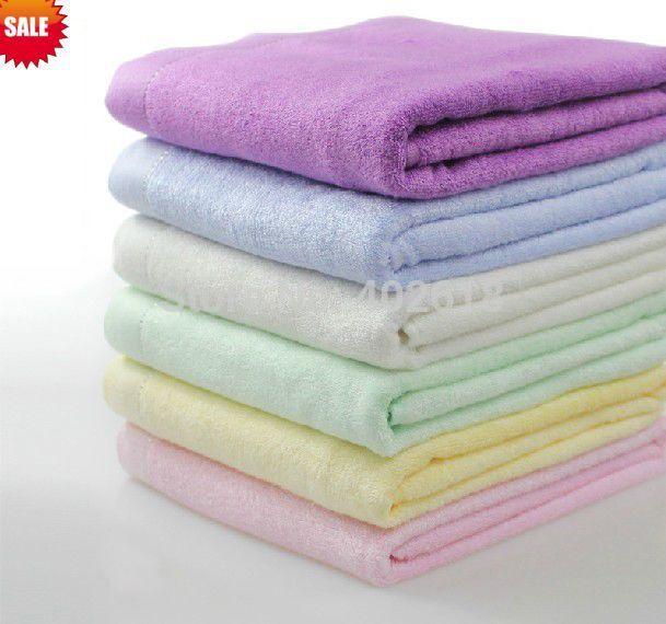 "(1PCS/Lot) Beach Towel, Bamboo towel, 55""x27""(140x70cm), Towel, 100%Bamboo Home textile, 6 Colors choice in stock(China (Mainland))"