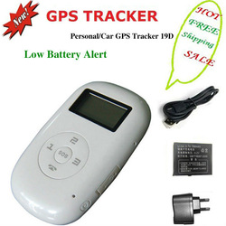 mini gps gsm personal tracker kid children tracking prevent losting child 19D(China (Mainland))