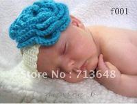 flower baby headband handmade crochet photography props baby headband