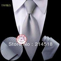 New styles TOP quality silk men's ties formal  men necktie cravat men tie plaid men's ties
