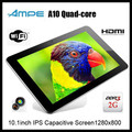 "wholesale Ampe A10 Quad Core A31 Android 4.1 Tablet PC 10.1"" IPS Capacitive 2G RAM 16GB"