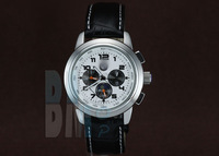 Watch Moonphase Chronograph Automatic. Available in Black and White Dial For Bimmer Fans. - Code: A033
