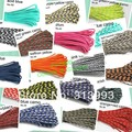 Freeshipping 1pc 550lb Paracord Parachute Cord Lanyard Rope Mil Spec Type 7 Strand 550 paracord LS1004