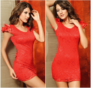 2014 Fashion Women's Sexy Open Backless Mini Dresses Club Dress Polyester+Elasthan 3 Color G2461