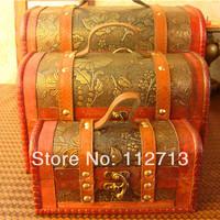 Charming Christmas gift case jewelry organizer storage jewelry package princess box 3 box large box set  wholesale free shipping