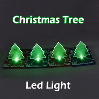 20pcs/lot Christmas Led Card Light/ Portable Pocket Led Light/  Novelty Christmas Tree Led Light