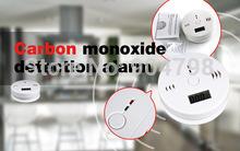 1pcs sensor LCD Advertencia CO monóxido de carbono del humo Envenenamiento alarma detector de gas probador LCD YKS(China (Mainland))